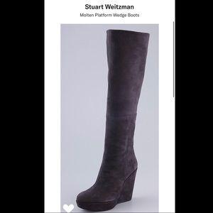 ‼️Authentic Stuart Weitzman Suede Knee High Boots!